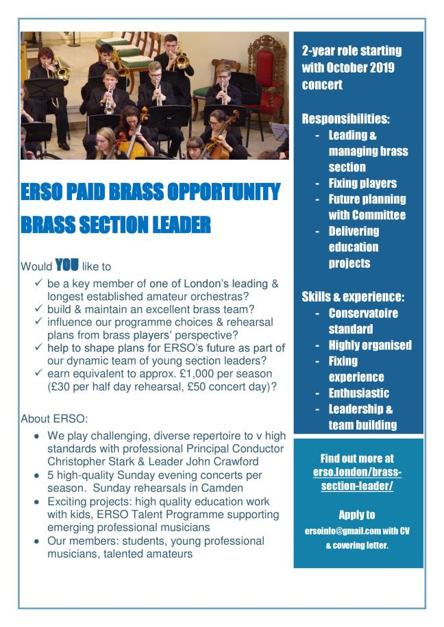 Brass Section Leader 2019 poster-final